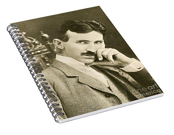 Nikola Tesla, Serbian-american Inventor Spiral Notebook