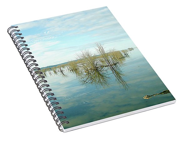 Nisqually High Tide Spiral Notebook
