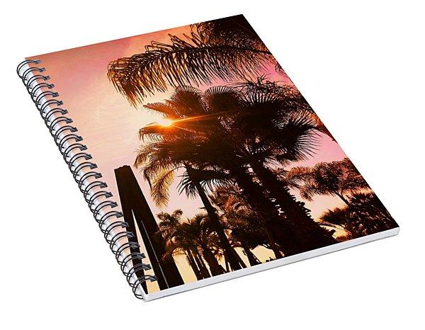 Promenade Des Anglais, Nice-nizza, France Spiral Notebook