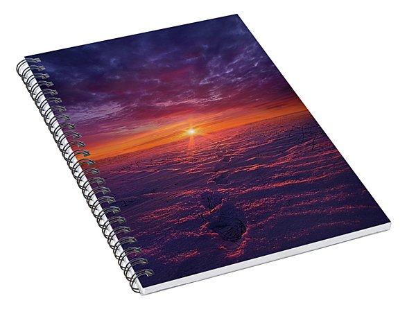 No Clear Border Spiral Notebook