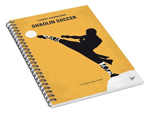 No480 My Shaolin Soccer Minimal Movie Poster Spiral Notebook
