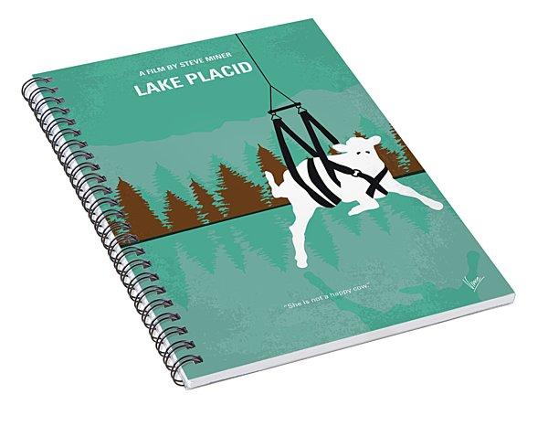 No944 My Lake Placid Minimal Movie Poster Spiral Notebook