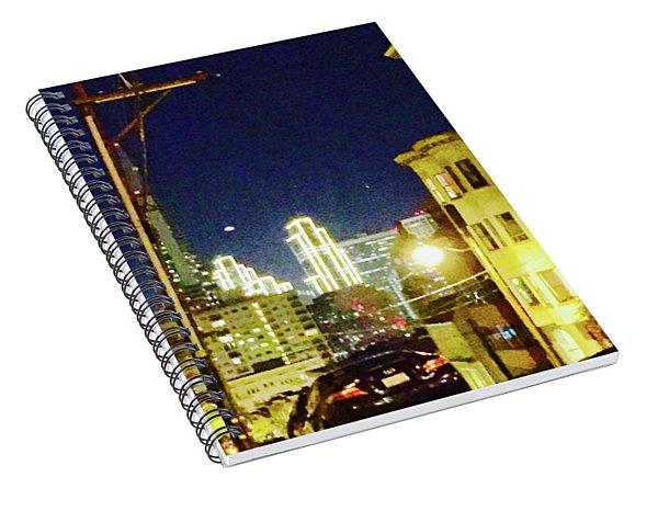 Nob Hill Electric Spiral Notebook
