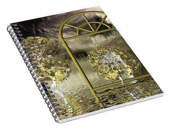 Nowhere-land Spiral Notebook