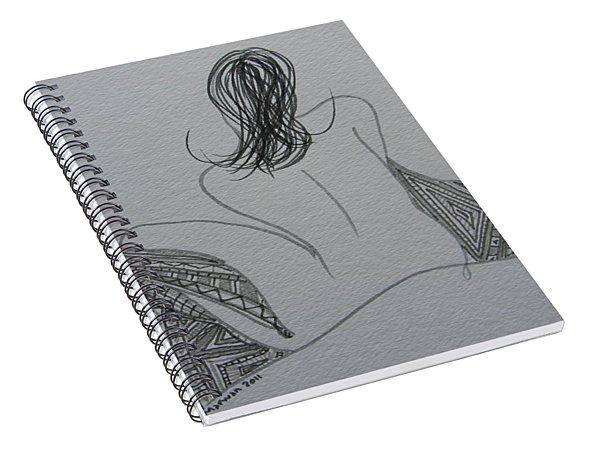 Nude II Spiral Notebook