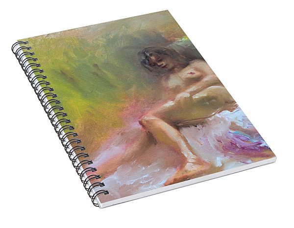 Nude Study Spiral Notebook