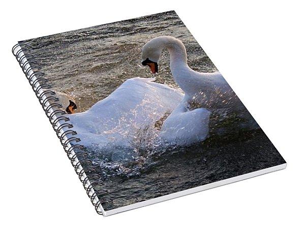 Nuptial Dance Spiral Notebook