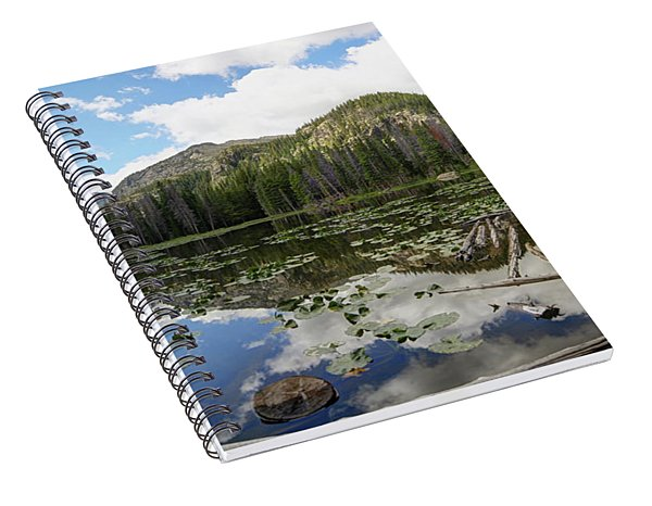 Nymph Lake 1 Spiral Notebook