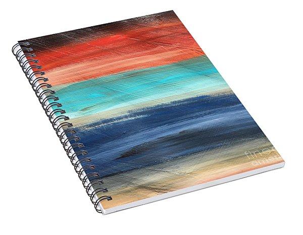 Oak Creek #27 Southwest Landscape Original Fine Art Acrylic On Canvas Spiral Notebook