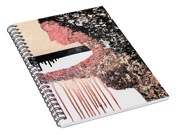 Obsidian Blush Spiral Notebook