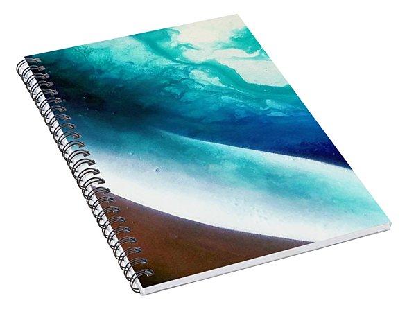 Crystal Wave Spiral Notebook