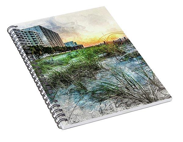 Ocean Drive Easter Sunrise Spiral Notebook
