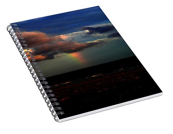 Ocean's Rainbow Spiral Notebook
