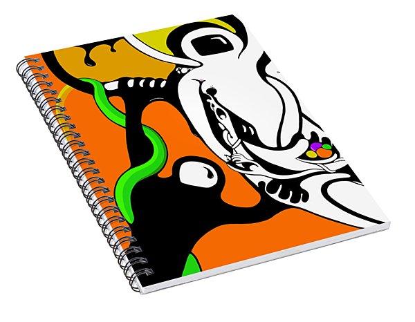 Oddballs Spiral Notebook