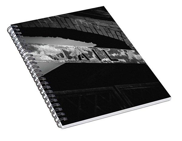 Off To Jail Spiral Notebook