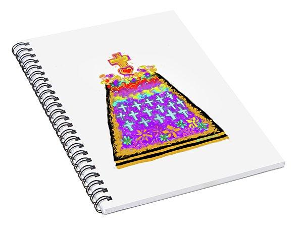 Ofrenda De Muertos Spiral Notebook