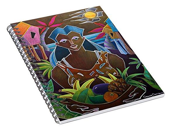 Ofrendas De Mi Tierra II Spiral Notebook