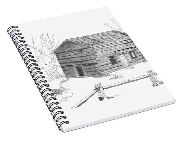 Old Cabin Spiral Notebook
