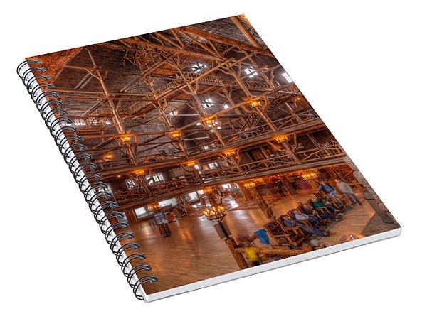 Old Faithful Lodge Spiral Notebook