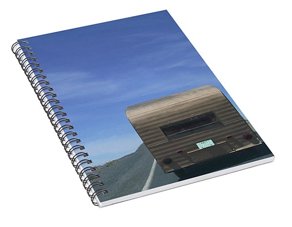 Old Trailer Spiral Notebook