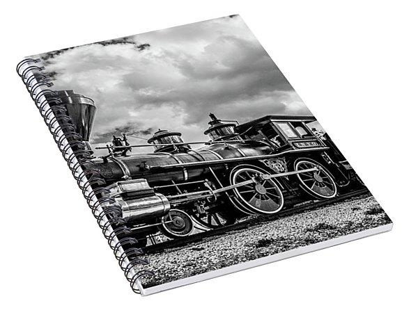 Old West Train Spiral Notebook