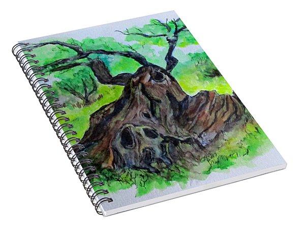 Olive Tree Spiral Notebook