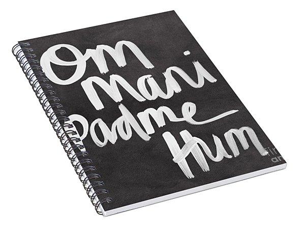 Om Mani Padme Hum Spiral Notebook