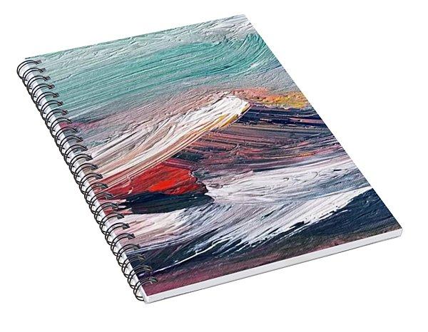 Wave Mountain Spiral Notebook