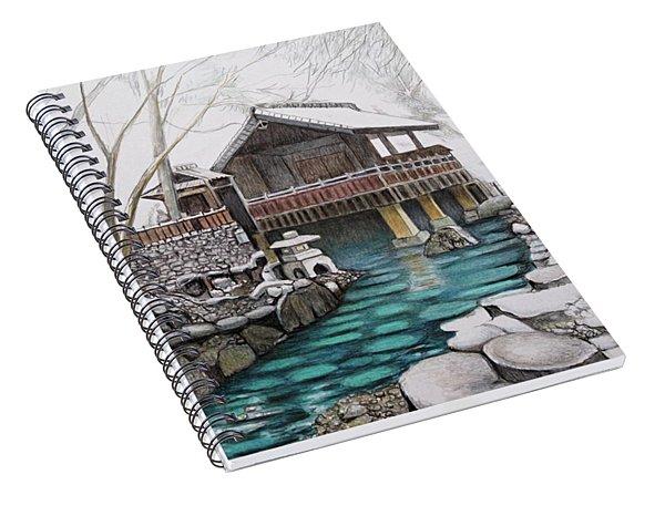 Onsen Spiral Notebook