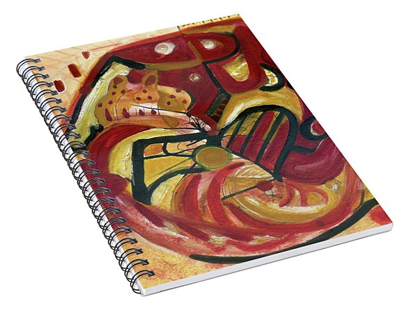 The Cat Spiral Notebook