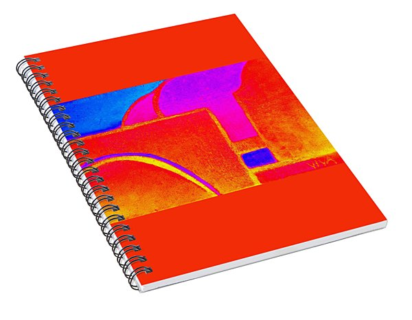 Outrageous Piazza Spiral Notebook
