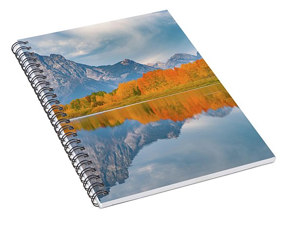Oxbow's Autumn Spiral Notebook