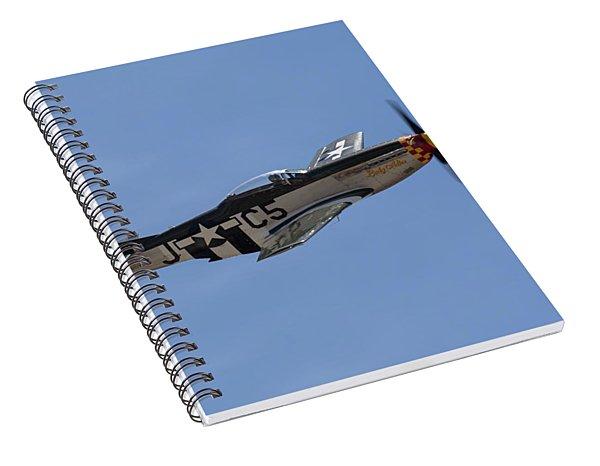 P-51 Lady Alice Spiral Notebook