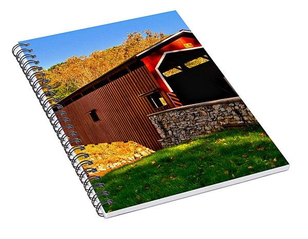 Pa Covered Bridge Spiral Notebook