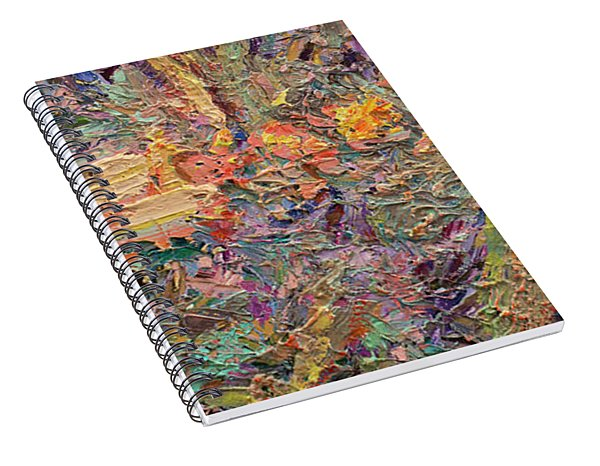 Paint Number 34 Spiral Notebook