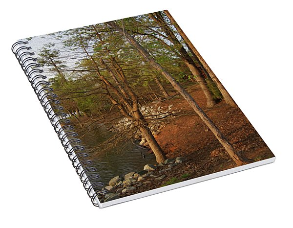 Painted Shore Camps Spiral Notebook