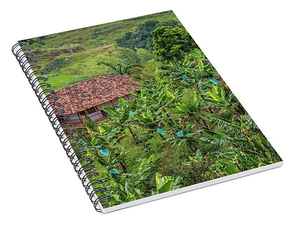 Paisaje Colombiano #5 Spiral Notebook