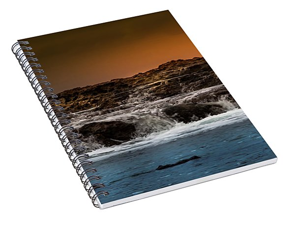 Palos Verdes Coast Spiral Notebook