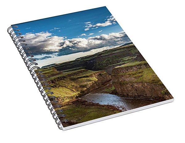 Palouse River Canyon Spiral Notebook