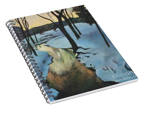 Parlee Farm Sunset Creek Spiral Notebook