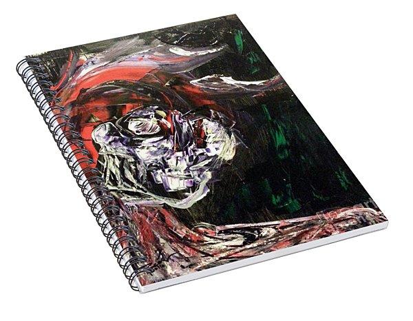 Past Demons Spiral Notebook