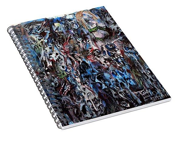 Past Life Trauma Spiral Notebook