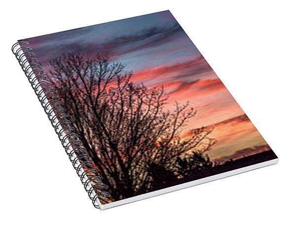 Pastel Sunrise Spiral Notebook