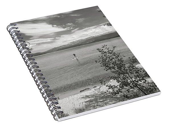 Payette Lake Boarder Spiral Notebook