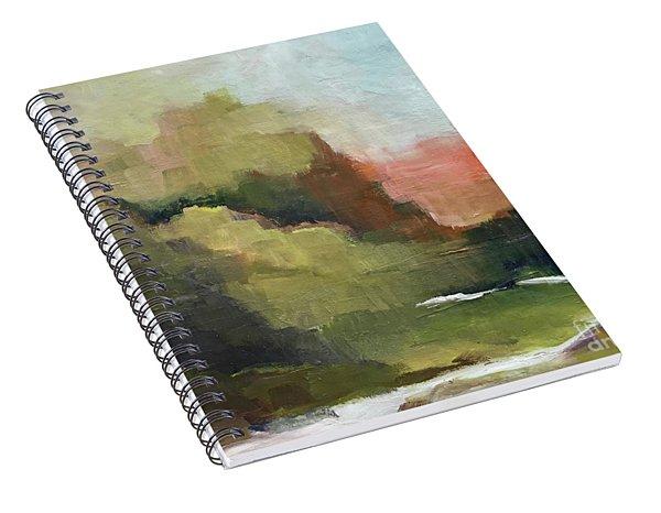 Peaceful Valley Spiral Notebook
