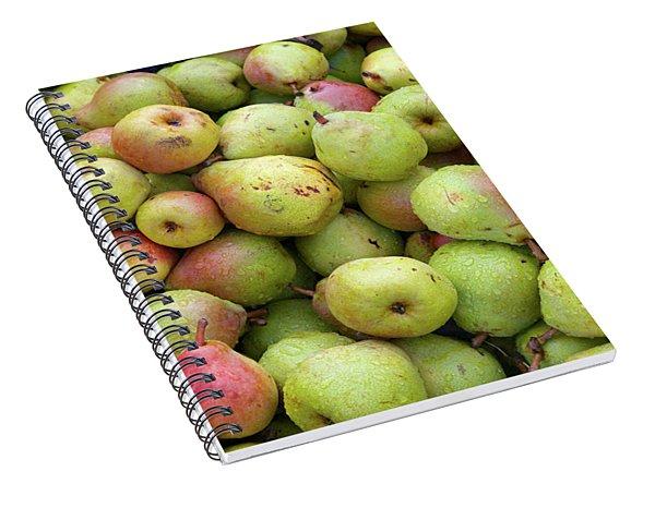 Pear Harvest Spiral Notebook