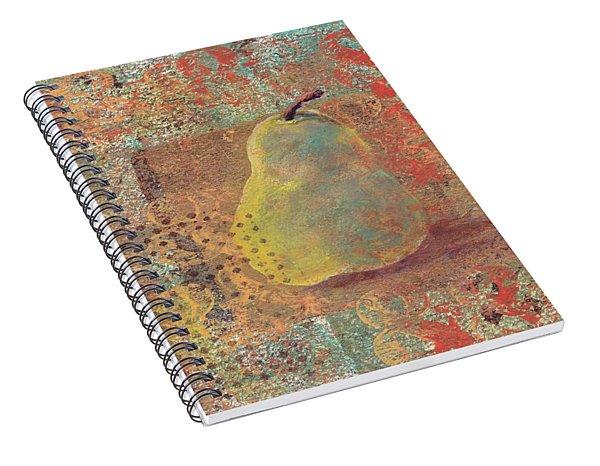 Pear Spiral Notebook