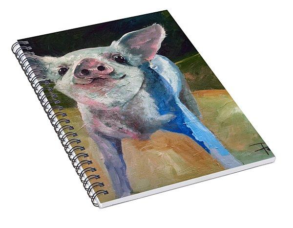 Pearl Spiral Notebook