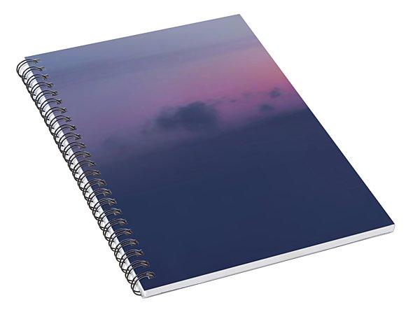 Pen Bay Sea Smoke Dawn Spiral Notebook