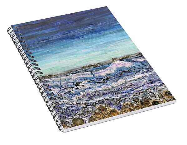 Pensive Waters Spiral Notebook